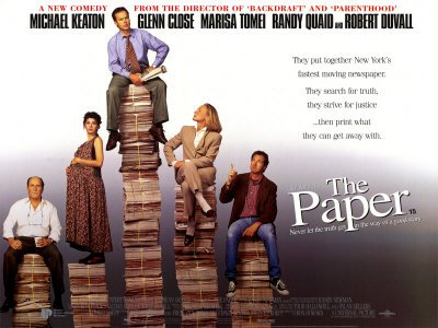 Poster The Paper (1994)
