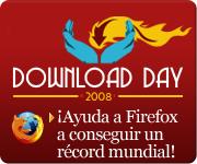 Anuncio sobre el Día de Descarga 2008 de Firefox 3