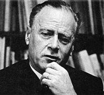 Fotografía de Marshall McLuhan en los años '70